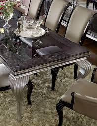 Michael Amini Dining Room Furniture Hollywood Swank Starry Night Dining Table By Michael Amini
