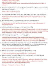 who was in washington s cabinet george washington shaping the presidency video questions pdf