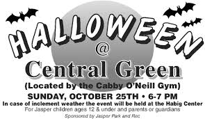 city park halloween city of jasper indiana events calendar halloween at central