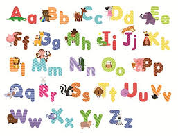 Wall Decal Letters For Nursery Animal Alphabet Wall Decals And Educational Letters For
