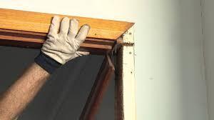 Repair Interior Door Frame How To Install Interior Door Frame Home Decor 2018