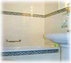 Bathroom Tile Border Ideas Colors Bathroom Tile Design Ideas U0026 Tile Murals Balian Tile Studio