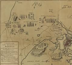 Lexington And Concord Map Embattled Farmers And The Shot Heard Round The World Locate 1