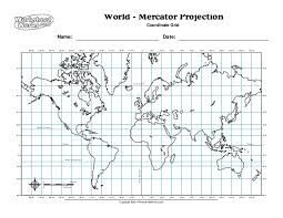 worksheet works world mercator projection 2