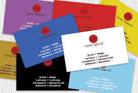 Catering Calling Card Design Japanese Business Card Design Restaurant Business Cards Design