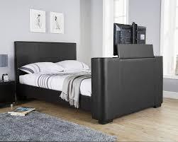 Kingsize Tv Bed Frame Nottingham Black Kingsize Tv Bed Frame