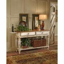 French Provincial Sofa Table French Country End Tables Foter