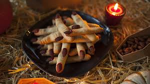finger biscuits for halloween youtube