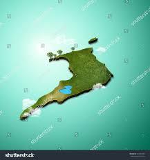 Map Of Trinidad Realistic 3d Map Trinidad Tobago Stock Illustration 314565059