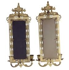 Mirrored Wall Sconce Mirror Candle Wall Sconce Wall Candle Holder With Mirror
