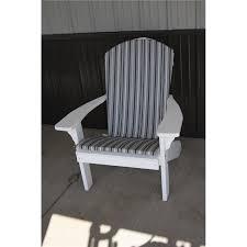 Grey Adirondack Chairs Adirondack Chair Back And Seat Cushion