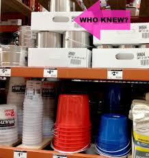 at home depot empty paint cans the gallon cans are about 4 and