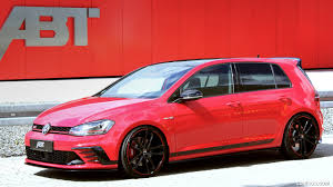 volkswagen gti 2017 2017 abt vw gti clubsport front three quarter hd wallpaper 1