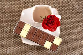chocolates for s day cup of coffee and box of chocolates i you perfet for