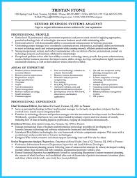 Technical Business Analyst Resume Sample Resume Of Senior Business Analyst