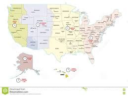 Alaska Map Cities by Us Time Zone Map Abouttimezone Ontimezonecom Time Zones For The