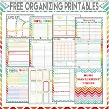 organized home printable menu planner 122 best organization images on pinterest free printables planner