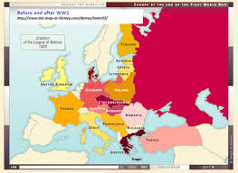post ww1 map shifting maps of europe 200 years from 1815 2014 the k2p