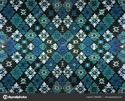 Black White Turquoise Teal Blue by Fragment Of Ornamental Carpet Green Blue Red Pink Grey Violet
