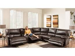 Reclining Sectional Sofa American Furniture Af800 Reclining Sectional Sofa Seats 5