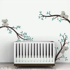baby nursery decor tree wall decal by leolittlelion on etsy