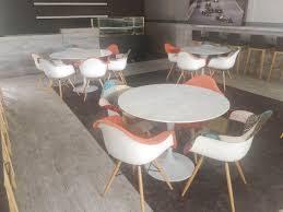 round marble kitchen table tulip dining table round marble replica dia900 comfort design