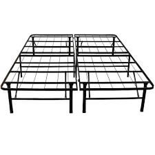 Basic Metal Bed Frame Modern Sleep Platform Metal Bed Frame Mattress Foundation