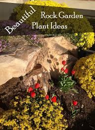 ideas for rock gardens