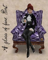 second life marketplace captain creighton u0027s smoking chair color