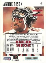 siege andre andre rison gallery the trading card database