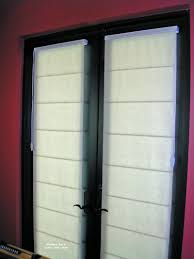 curtains and blinds for french doors decorate the house with