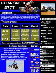 win a motocross bike resume