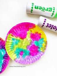 5 minute paper plate art for kids
