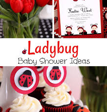 ladybug baby shower ideas ladybug baby shower ideas