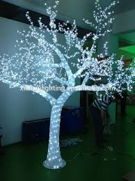 led magic glue tree for decorative white lighted