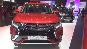 mitsubishi outlander sport 2016 red mitsubishi outlander phev diamond 4x4 at red 2016 exterior and