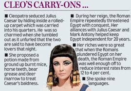 sorry liz but this is the real face of cleopatra daily mail online