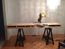 dewalt chop saw table build a miter saw table i made it at techshop