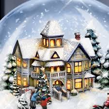 kinkade jingle bells illuminated musical