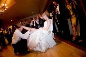 garters for wedding real wedding garter alli s patriotic and stripes wedding
