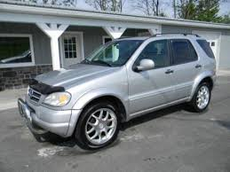 1999 mercedes ml 430 used 1999 mercedes ml class 430 luxury suv for sale in pa