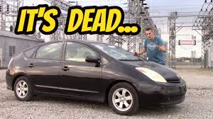 cheapest toyota model i bought a cheap toyota prius with a dead hybrid battery youtube