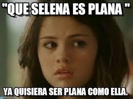 Selena Memes - que selena es plana sel meme on memegen