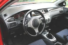 mitsubishi crossover interior mitsubishi lancer evolution tech oem upgrades modified magazine