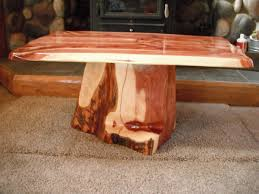 tables made from logs tables made from tree logs table designs