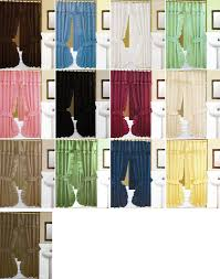 Double Swag Shower Curtain With Valance Shower Curtains Double Swag Shower Curtains With Valance