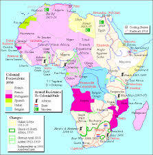 africa map before colonization colonial possesions in africa in 1930
