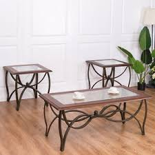 Glass Accent Table Metal Accent Table Ebay