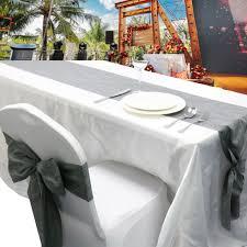burlap chair sashes furniture chair sashes fresh rustic theme wedding decoration