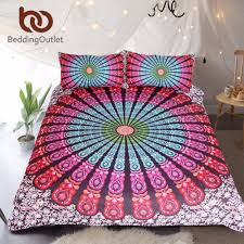 bohemian chic bedding interior design